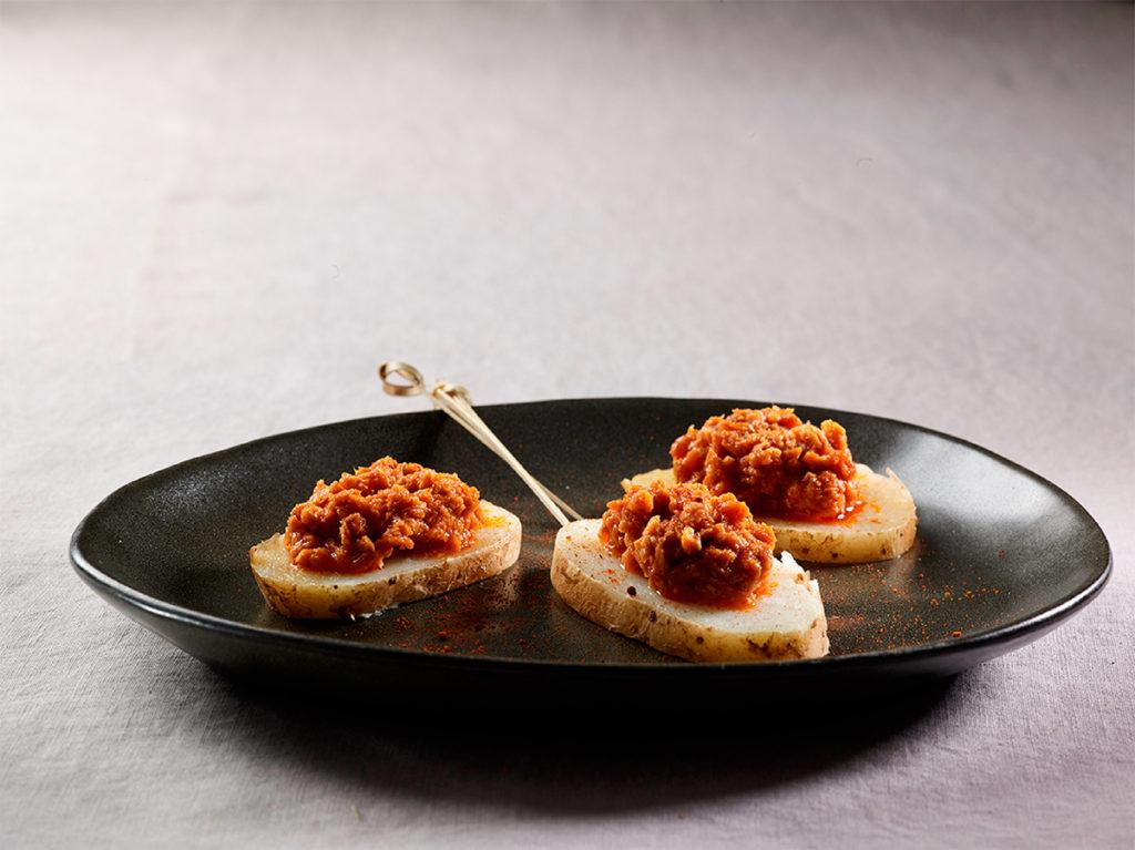 Atún / Atún claro en salsa gallega picante
